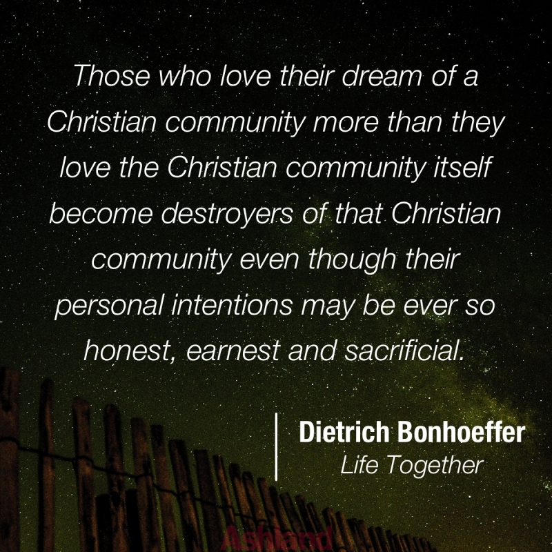 bonhoeffer-community