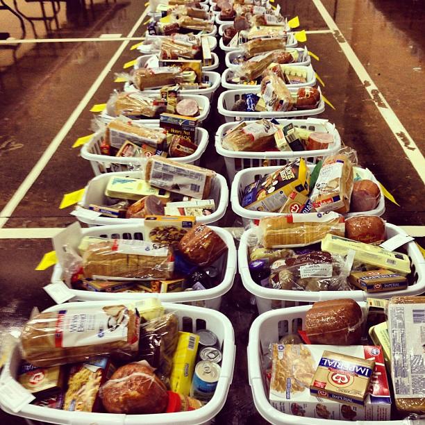 Christmas basket delivery ashland events for How to make christmas food baskets