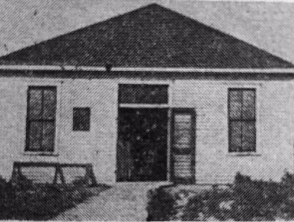 School house Ashland met in until 1922